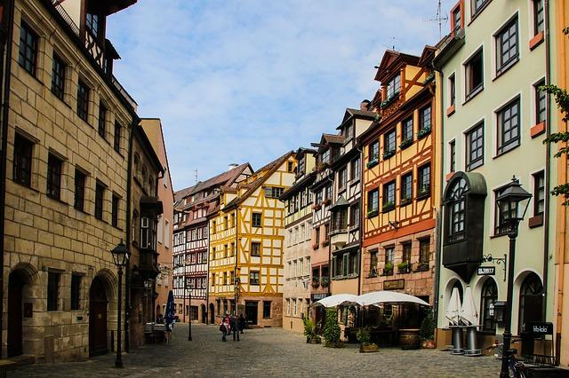norimberk historické centrum