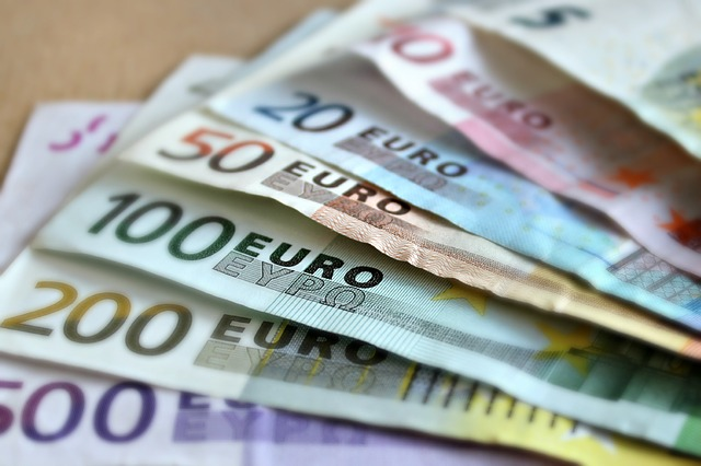bankovka euro