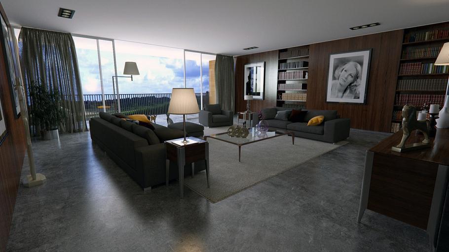 zařízený byt